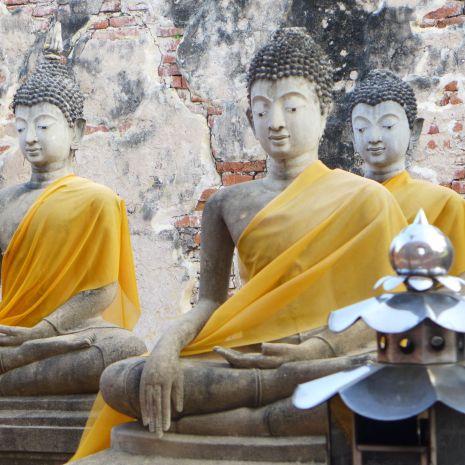 Buddha-Statuen gibt es eine Menge.