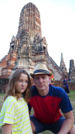 Eindrucksvoll: Der Tempel ist einer der wenigen, der den Angriff der Burmanischen Armee unbeschadet überstanden hat.