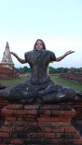Der Buddha kommt uns bekannt vor.