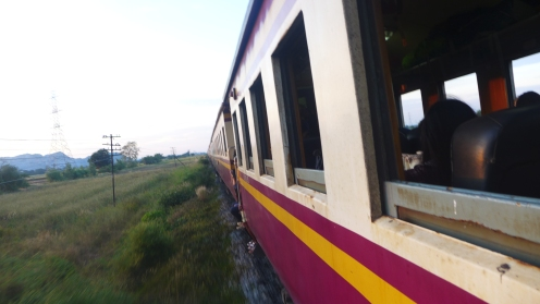 Unser Hotel: Der Nachtzug nach Chiang Mai.
