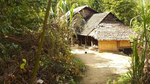 Vor über 1000 Jahren haben sich Birmanesen in den Wäldern angesiedelt.